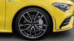 Mercedes CLA 35 AMG 4Matic Shooting Brake: dettaglio del cerchio