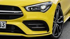Mercedes CLA 35 AMG 4Matic Shooting Brake: dettaglio del fascione