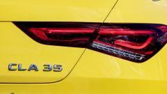 Mercedes CLA 35 AMG 4Matic Shooting Brake: dettaglio del gruppo ottico posteriore