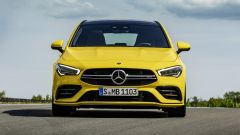 Mercedes CLA 35 AMG 4Matic Shooting Brake: il frontale