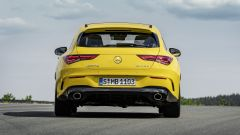 Mercedes CLA 35 AMG 4Matic Shooting Brake: il posteriore