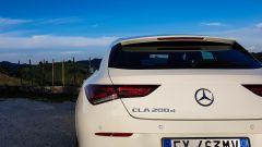 Mercedes CLA Shooting Brake 200 d, dettaglio del posteriore