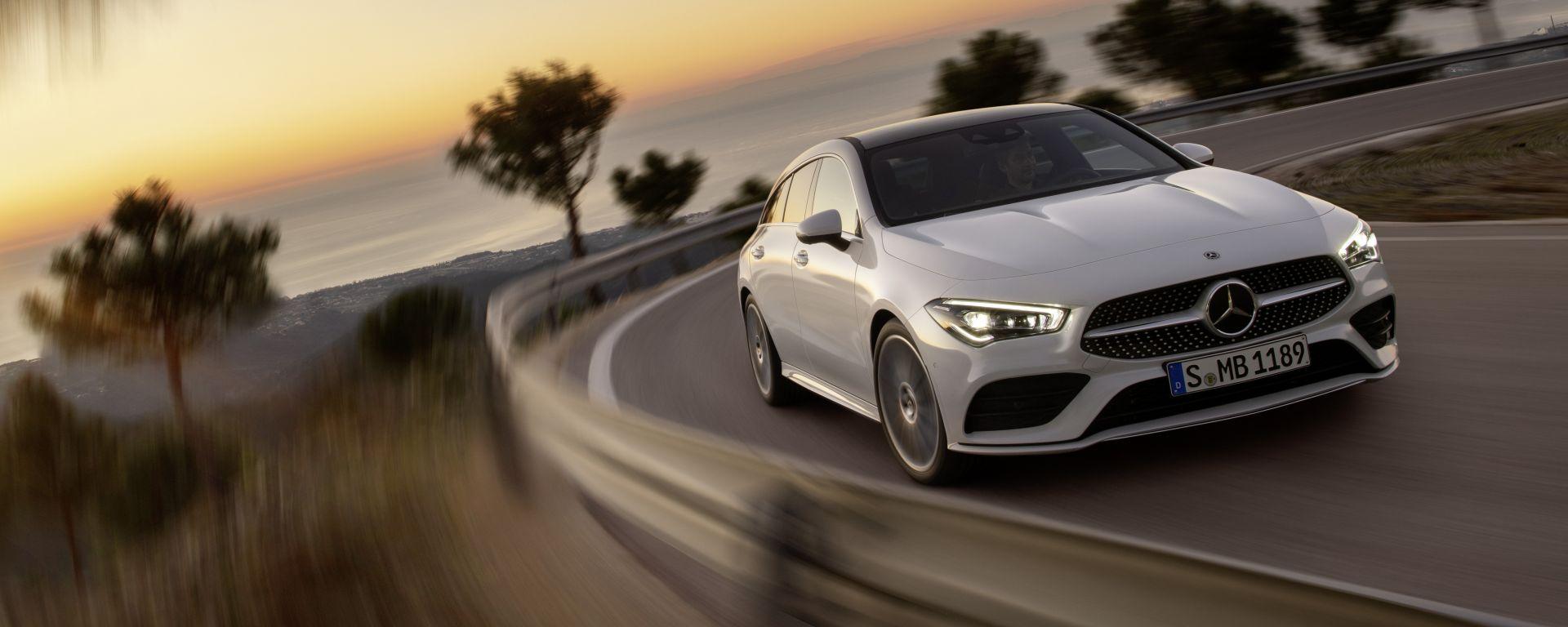 Stella di design e comfort: la prova della Mercedes CLA Shooting Brake