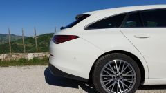 Mercedes CLA Shooting Brake, dettaglio del finestrino posteriore