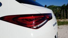 Mercedes CLA Shooting Brake, dettaglio delle luci posteriori