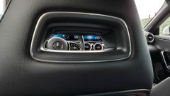 Mercedes CLA Shooting Brake, dettaglio dello schienale del sedile guida