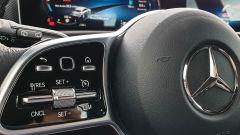 Mercedes CLA Shooting Brake, i comandi al volante del cruise control