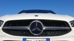 Mercedes CLA Shooting Brake, la calandra