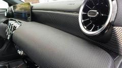Mercedes CLA Shooting Brake, la finitura della plancia