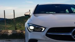 Mercedes CLA Shooting Brake, la firma luminosa
