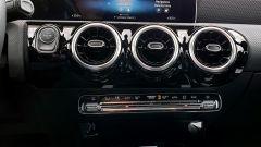 Mercedes CLA Shooting Brake, le bocchette della ventilazione in plancia