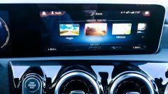 Mercedes CLA Shooting Brake, lo schermo dell'infotainment