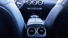 Mercedes CLA Shooting Brake, panoramica delle bocchette di ventilazione