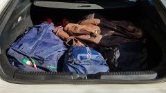 Mercedes CLA Shooting Brake, prove di carico del bagagliaio