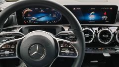 Mercedes CLA Shooting Brake, strumentazione digitale e infotainment MBUX