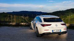 Mercedes CLA Shooting Brake sulle colline di Macerata Feltria