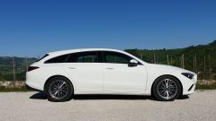 Mercedes CLA Shooting Brake, vista laterale