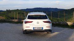 Mercedes CLA Shooting Brake, vista posteriore