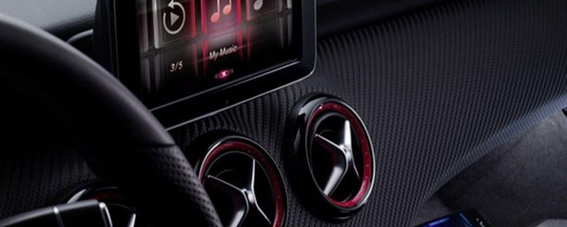 Mercedes Classe A 2012: prime foto degli interni