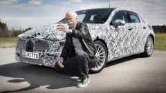 Mercedes Classe A 2018, il selfie di Zetsche
