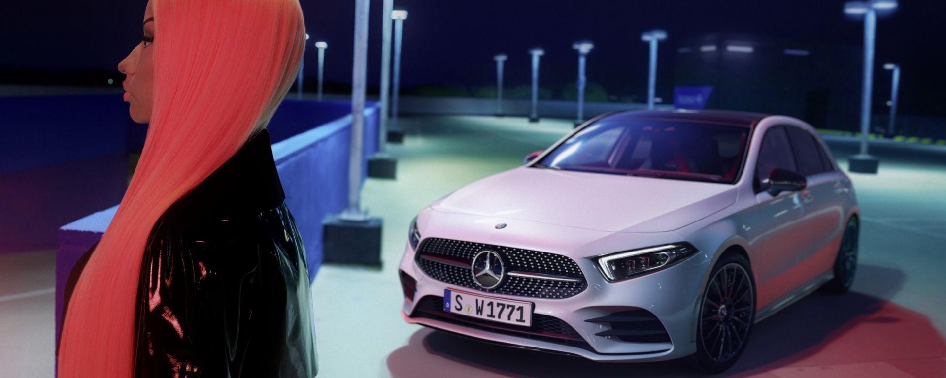 Mercedes Classe A 2018: lo spot con Nicki Minaj
