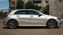 Mercedes Classe A 250 e: vista laterale destra