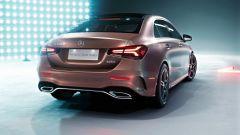 Mercedes Classe A berlina: dettaglio del posteriore