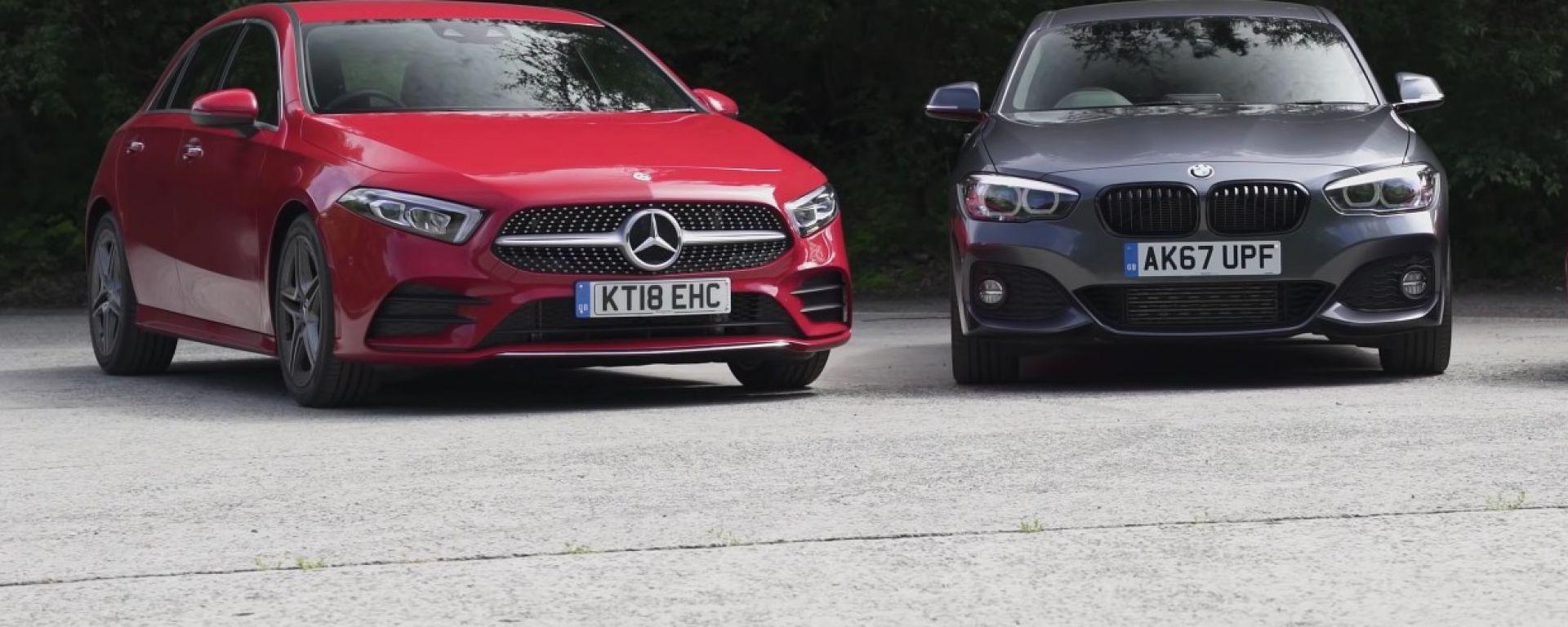 Mercedes Classe A e BMW Serie 1, un futuro da...gemelle?
