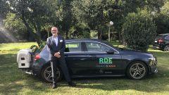 Mercedes Classe A ed Eugenio Blasetti, responsabile External Affairs della casa di Stoccarda