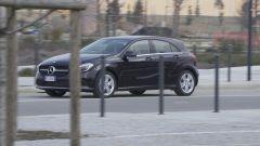 Mercedes Classe A ha una carrozzeria atletica e più compatta