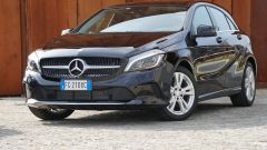 Mercedes Classe A, il frontale