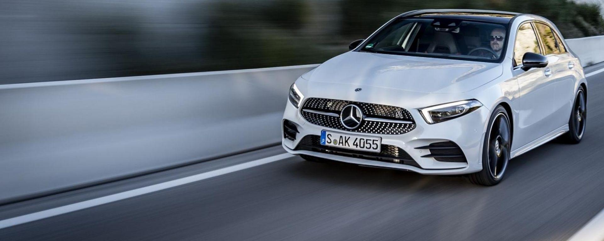 Mercedes Classe A, l'auto più sicura del 2018