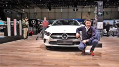 Nuova Mercedes Classe A: in video dal Salone di Ginevra 2018 - Immagine: 1