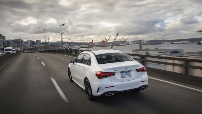 Mercedes Classe A Sedan: la 200d sarà omologata Euro 6d