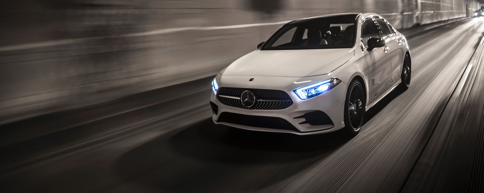 Mercedes Classe A Sedan: movimento
