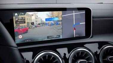 Mercedes Classe A Sport Extra, MBUX con realtà aumentata