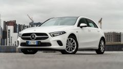 Mercedes Classe A, visuale di 3/4 anteriore
