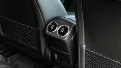 Mercedes Classe A180d, bocchette di ventilazione posteriori