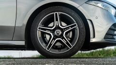 Mercedes Classe A180d, cerchio e freno anteriore