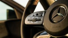 Mercedes Classe A180d, comandi sulla razza sinistra del volante