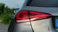 Mercedes Classe A180d, dettaglio delle luci posteriori