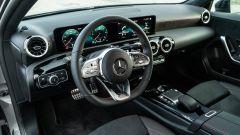 Mercedes Classe A180d, gli interni