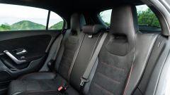Mercedes Classe A180d, i sedili posteriori