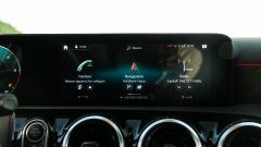 Mercedes Classe A180d, il display touch a centro plancia