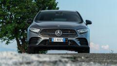 Mercedes Classe A180d, il frontale