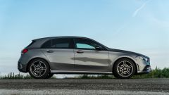 Mercedes Classe A180d, vista laterale