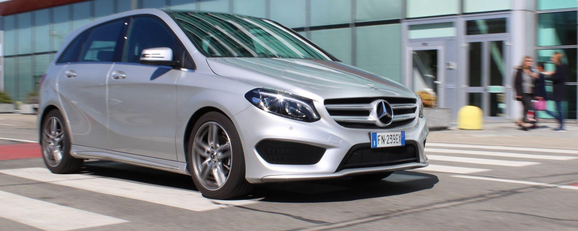 Mercedes Classe B 200 d Premium Tech: prova su strada