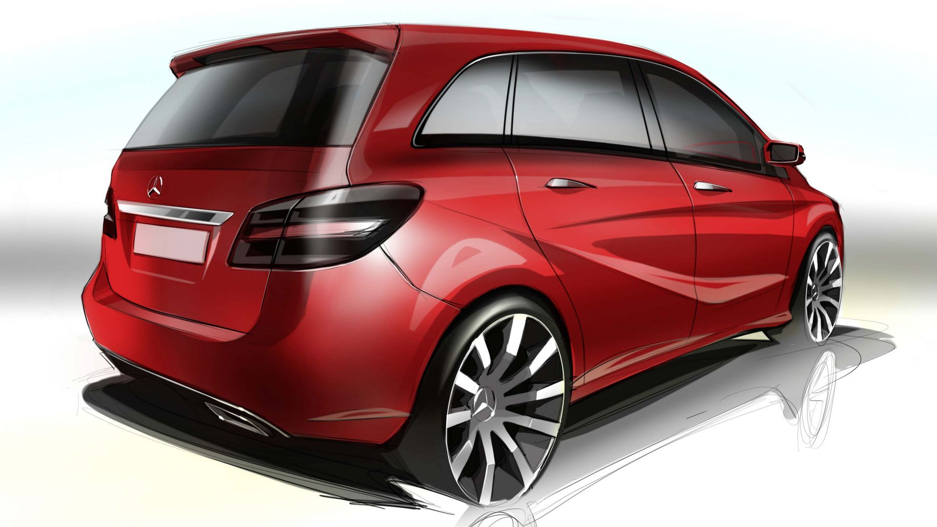 Immagine 171: Mercedes Classe B 2012