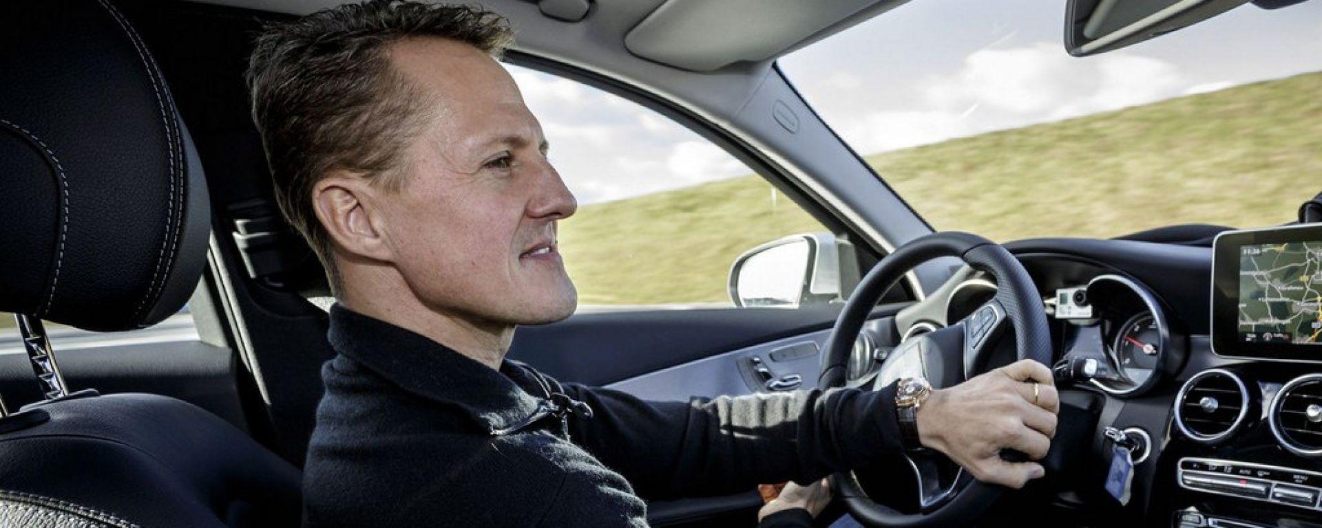 Mercedes Classe C 2014: la prova Schumacher