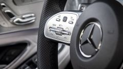 Mercedes Classe C 2018: il nuovo volante multifunzione con comandi a sfioramento